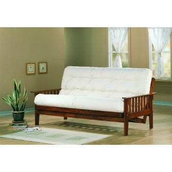 Santa Rosa Futon Comes In A Dark Dirty Oak Finish It Functions As