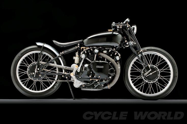 Cycle World - A Black Art - World's Coolest Bikes