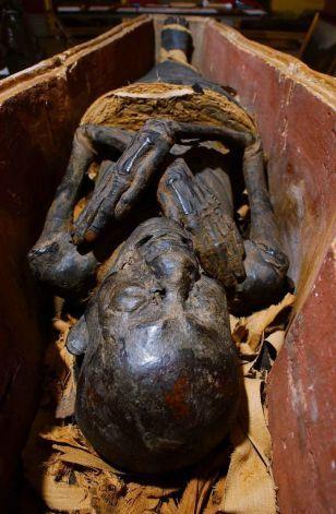 Male Egyptian mummy circa 900 B.C