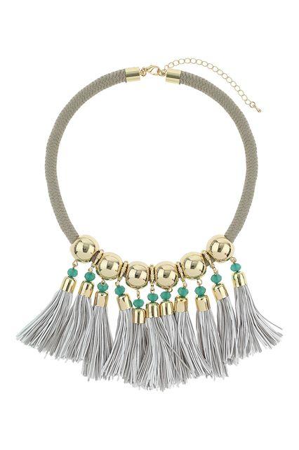12 Tassel Necklaces With Loads Of Fringe Benefits #refinery29  http://www.refinery29.com/tassel-necklaces#slide12