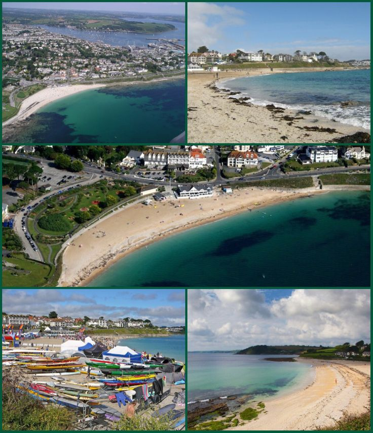 Gyllyngvase (Cornish: An Gilen Vas, meaning the shallow inlet) is one of the four beaches associated with Falmouth, Cornwall, located south of Pendennis Castle. It is to the south of Falmouth town centre, but was an essentially rural area as recently as t