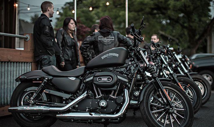 2015 Harley-Davidson® Sportster® Iron 883™ Motorcycles Photos & Videos