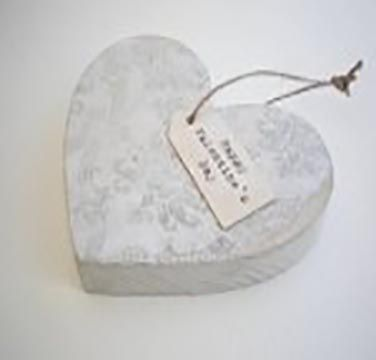 This Handmade Wooden Heart makes the perfect gift for the Happy Couple and comes with a personalised gift tag too £10.75