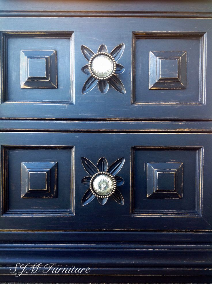 73 Best Images About Blue Hues Painted Furniture On Pinterest Vintage Dressers Persian And