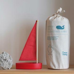Organic cotton hooded bath towel | Natural Organic Bio Baby Products: Organic Cotton & Merino Wool