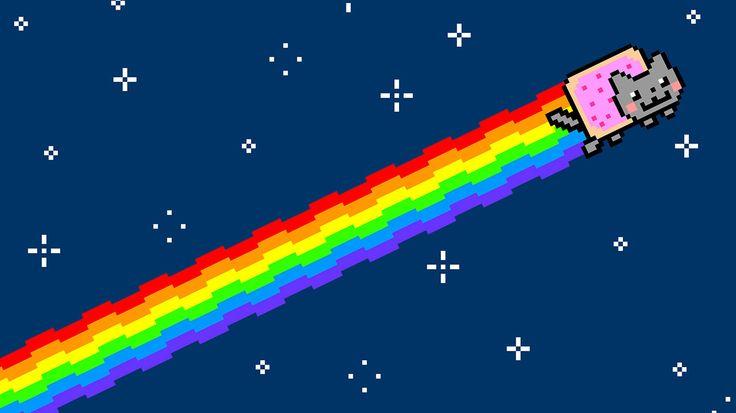Il meme di internet noto come Nyan Cat