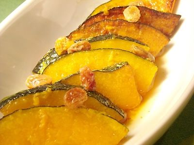かぼちゃのマリネ/Zucca all'Agrodolce/marinated pumpkin