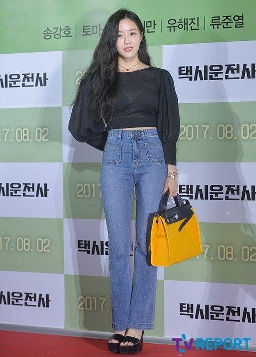 T-ARA ヒョミン映画「タクシー運転手」VIP試写会に出席