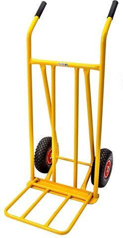 Transportkärra, klarar upp till 100 kg, gul, 3800680 Överskottsbolaget 269 SEK