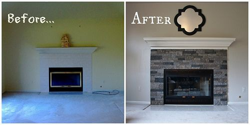 Airstone Fireplace Makeover: 25+ Best Ideas About Airstone Fireplace On Pinterest
