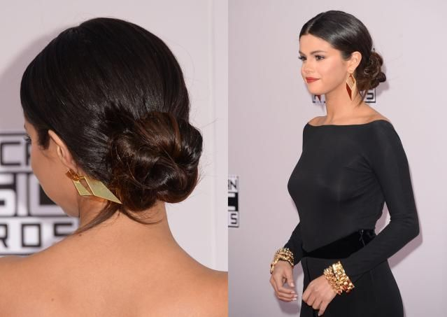 8 Celebrity Updos to Try Now: Selena Gomez