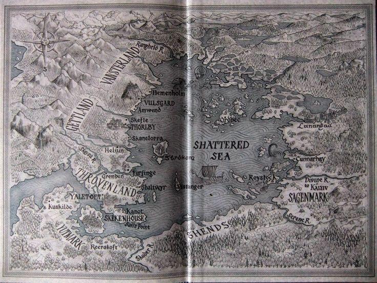 Half a King map - Joe Abercrombie
