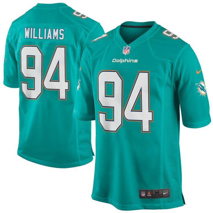 Mario Williams Miami Dolphins Nike Game Jersey - Aqua