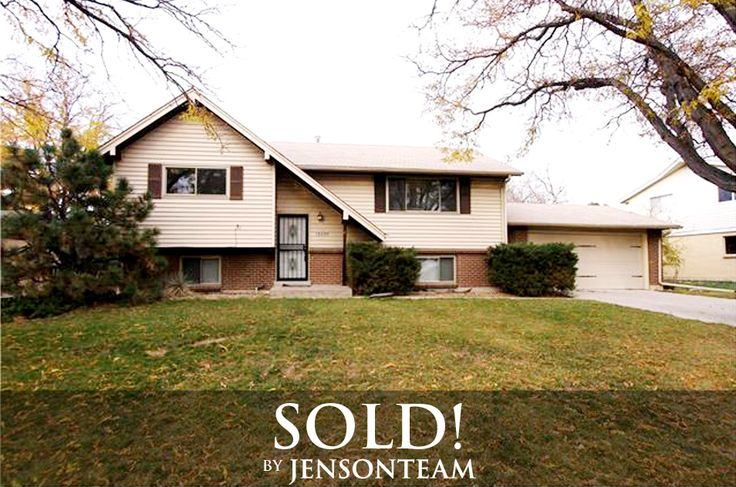 Sold | 13099 E Virginia, Aurora  This one is a gem! Lots of square feet and 4 bedrooms, 2 baths, 2 car garage with a large lot and deck! Fresh paint, gleaming hardwood floors, new windows, new garage door, new light fixtures.