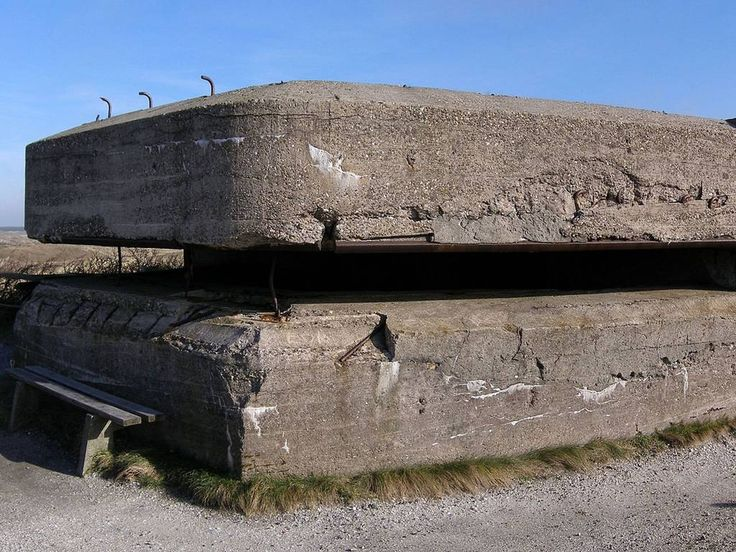 Dutch bunker at Loodsmansduin, near Den Hoorn, on the island Texel. The bunker was built in 1938-1939 and was used by the German occupational forces during the WWII