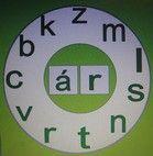 Betűkerék 1.o.- 3 betű összevonására - nagy méretű, mágneses