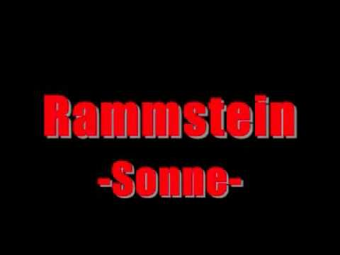 Rammstein - Sonne (Lyrics) [HQ]