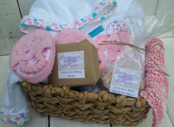 Items Similar To Baby Girl Gift, Baby Shower Gift, Baby Gift Basket On Etsy