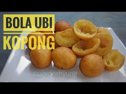 RESEP Bola-bola Ubi * Sweet Potato Balls (Indonesian Street Food) - YouTube