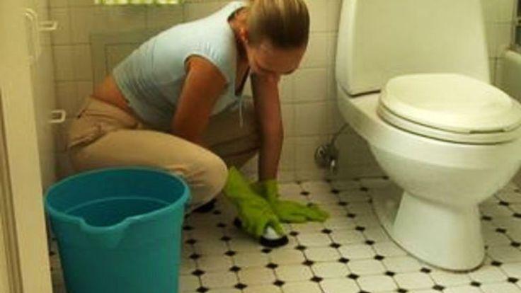 cleaning ceramic tile floor