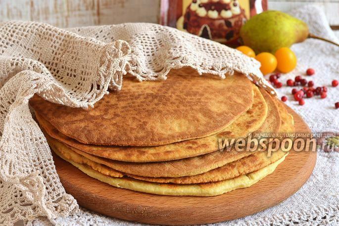 Коржи на сковороде для тортов