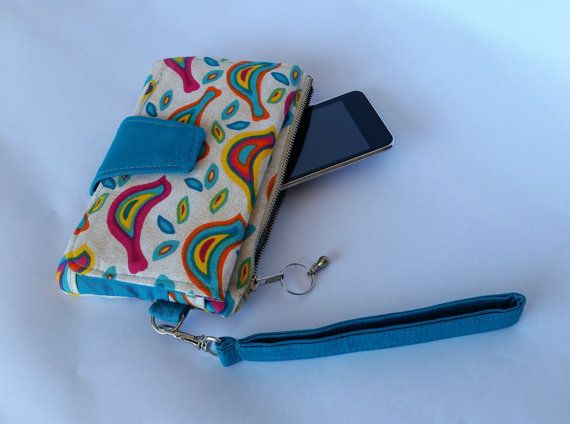 Multi-coloured and teal Pearl Wallet Clutch by Swoon