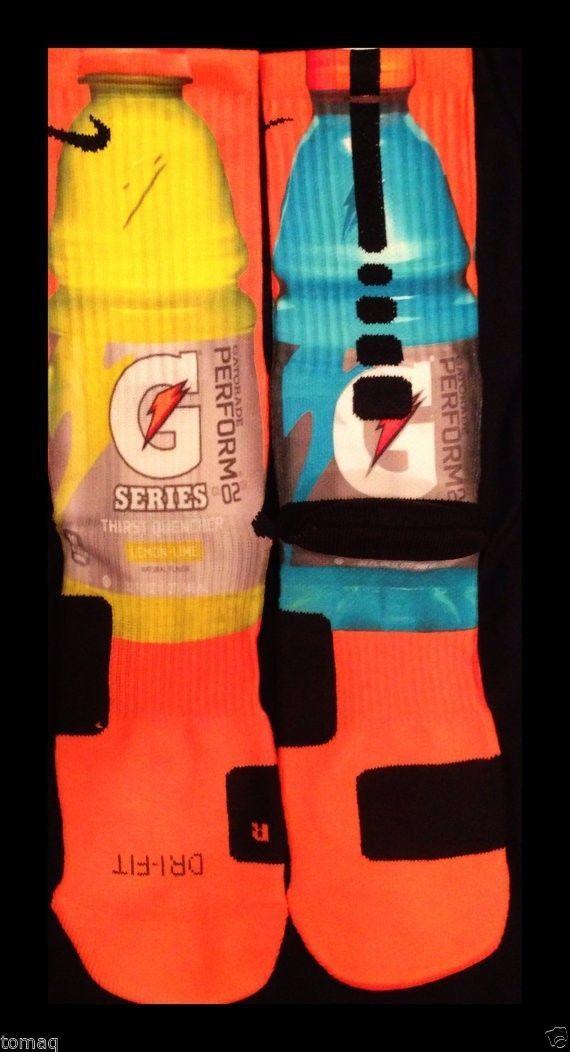 Popular Gatorade Custom Nike Elite Socks by KristinAnnBoutique