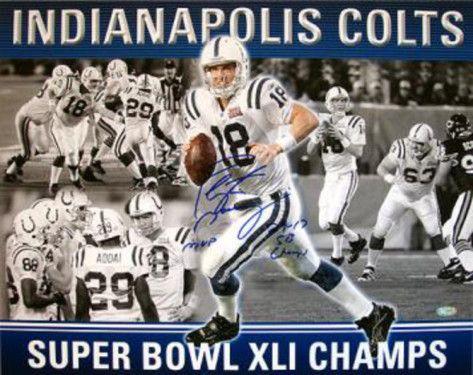 Peyton Manning Poster | Peyton Manning Super Bowl MVP Collage