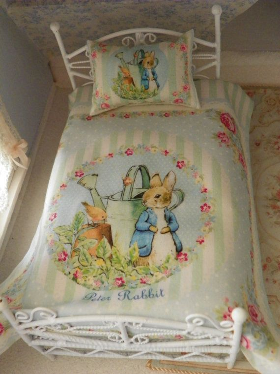 1 12 Scale Bed Sheetsbed Linen By Mondinadollhouse On Etsy