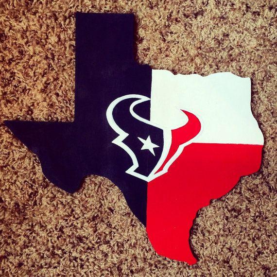 Houston Texans cutout by KuskisCalligraphy on Etsy