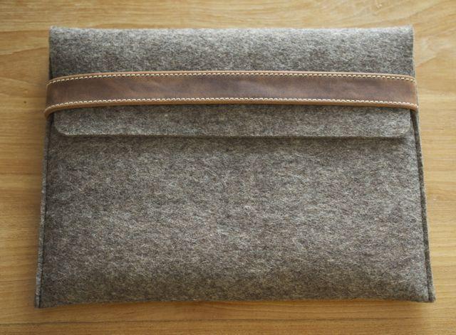 iPad (Air) felt cover FUIZL from filzstueck by DaWanda.com