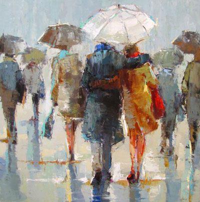 Rainy Day Figures