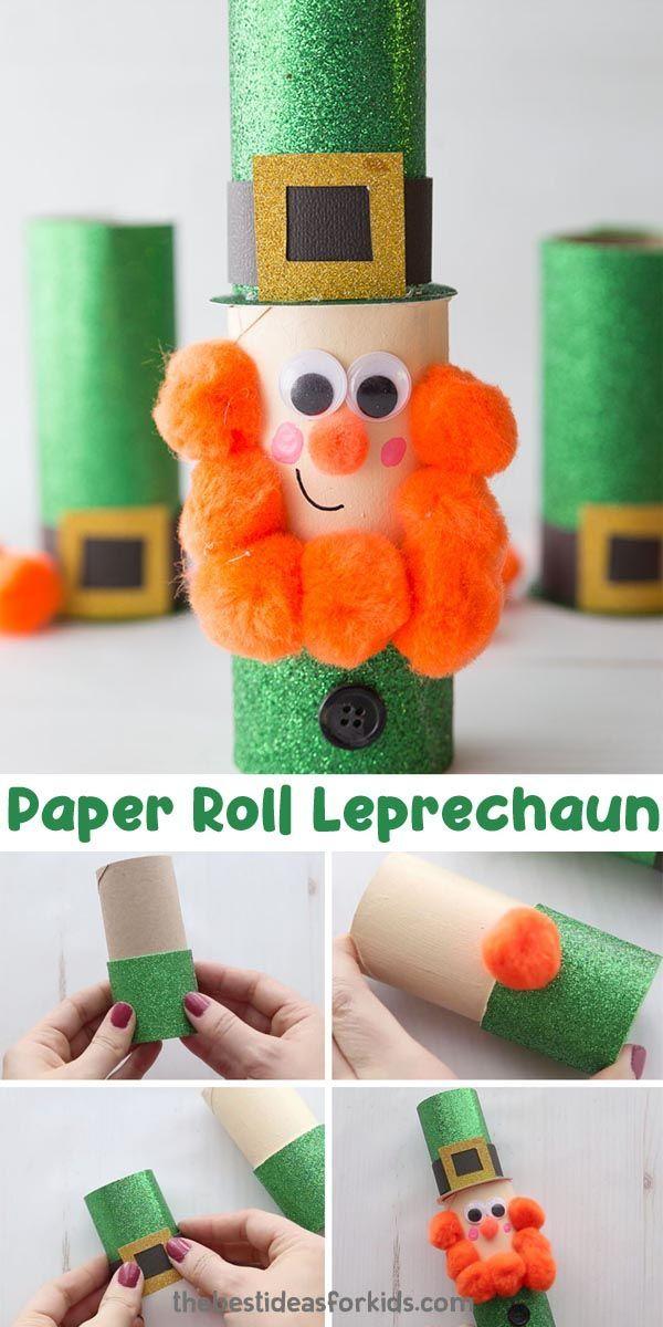 Leprechaun Craft In 2020 St Patrick S Day Crafts St Patricks