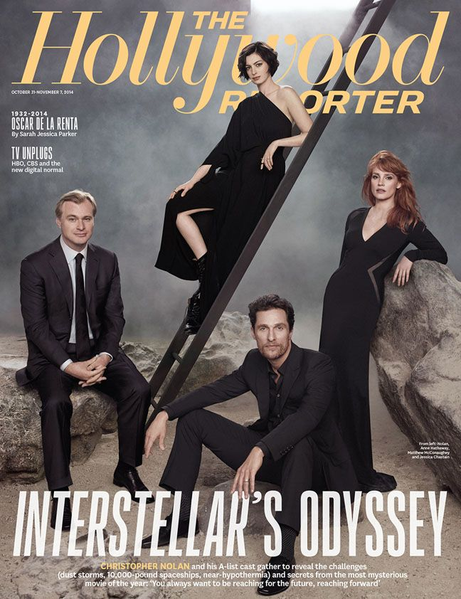'Interstellar's' Christopher Nolan, Stars Gather to Reveal Secrets of the Year's Most Mysterious Film