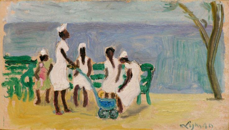"John Lyman, (1886-1967) ""Les Nou Nous"", c. 1961"