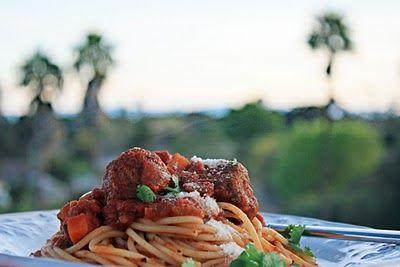 Turkey Meatball Spaghetti | I love FOOD | Pinterest