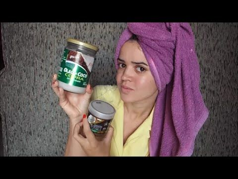 Selagem Capilar: óleo de coco NOVEX (Nutrição)