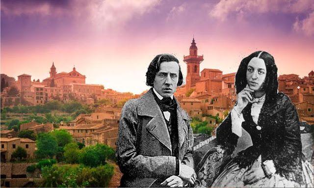 [I luoghi dei libri]  La Maiorca di George Sand e Frédéric Chopin: cielo rosa, montagne aspre e palme solitarie, di Ilaria Biondi