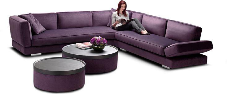 Best 25 Purple Leather Sofas Ideas On Pinterest Purple