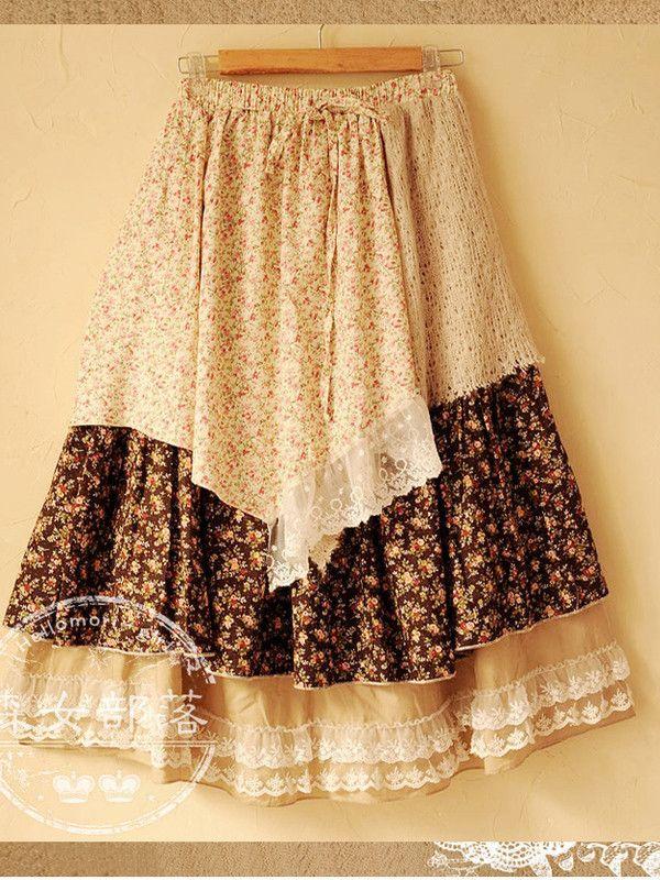 Mori girl's dream skirt
