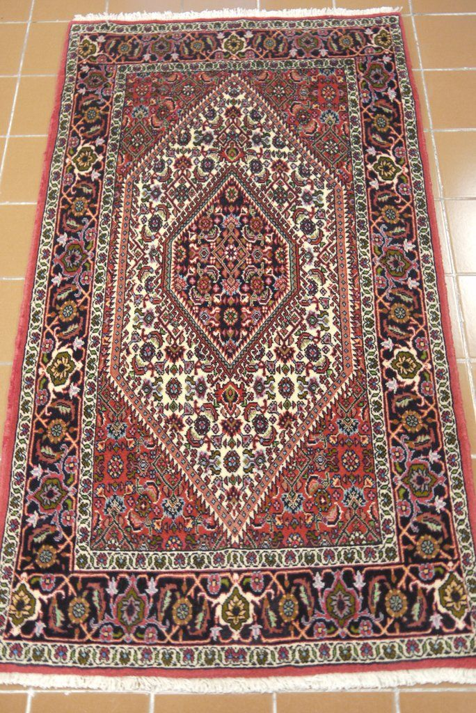 "NR: 19948 Location: Bidjar Size: 5'3"" x 2'9""  Country: Iran  Pile: Wool  Base: Cotton"