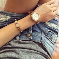 Arm Party Rose Gold Bracelet #fashionista #casual - 26,90 � @happinessboutique.com