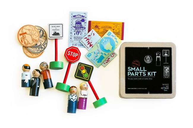 iconic toy - small parts kit