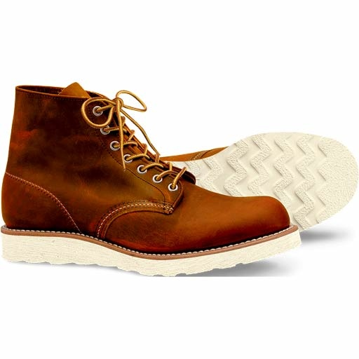 Red Wing Work Moc Toe Shoes (9105/Copper WS) $249.95
