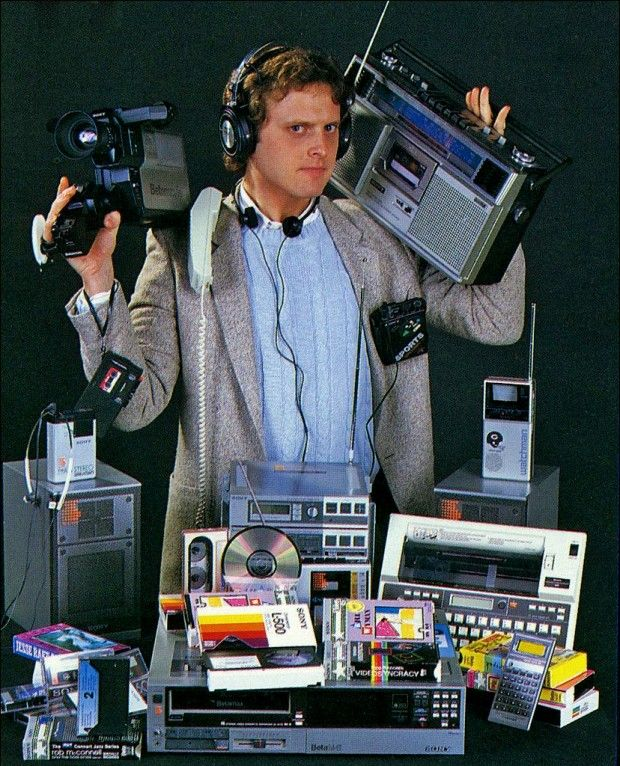 Электронные гаджеты 1980-х