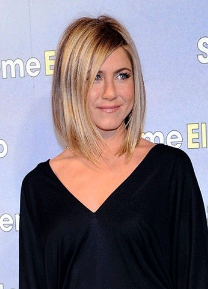 Jennifer Aniston long bob hairstyle | Hairstyles Weekly