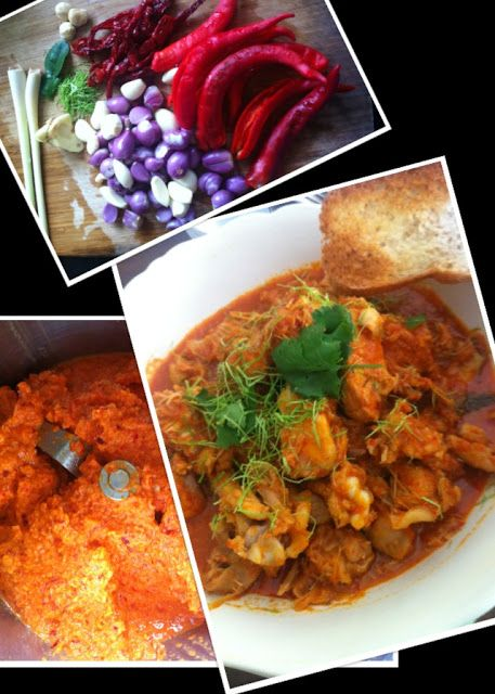 Lots of good ingredients in this #Thermomix #Curry Chicken Kapitan #Recipe