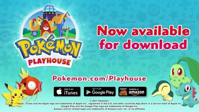 #PokémonPlayhouse, a brand new game is now available for Android & iOS! 😉  PS: #PokkénTournamentDX (for #NintendoSwitch) & #PokémonGoldSilver (for #Nintendo3DSFamily) are now available as well! 😍 #pokemon #toys #fun #love