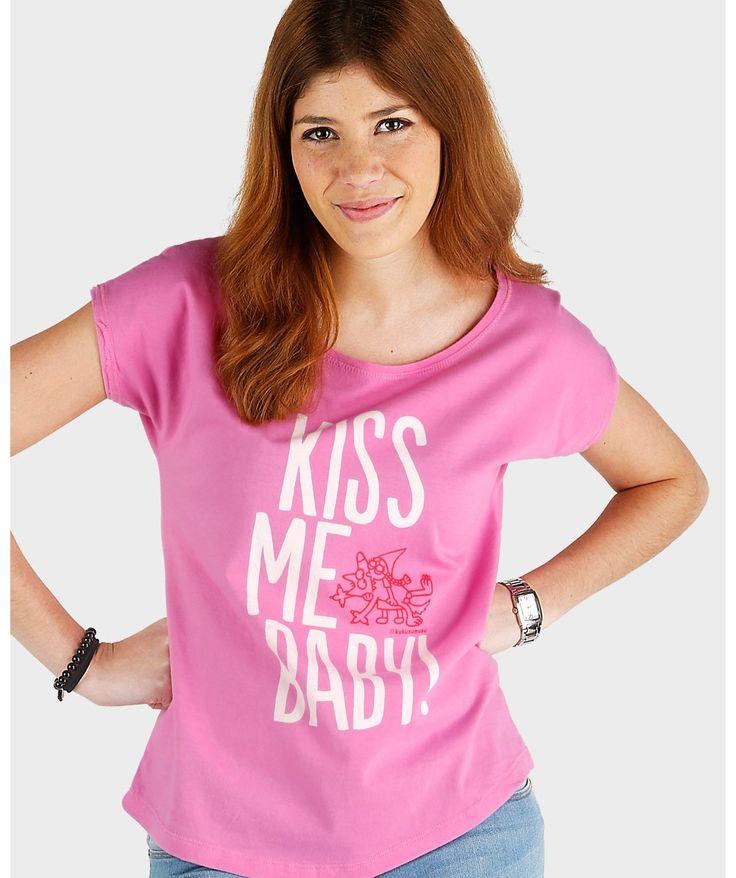 Camisetas originales mujer - Besucao