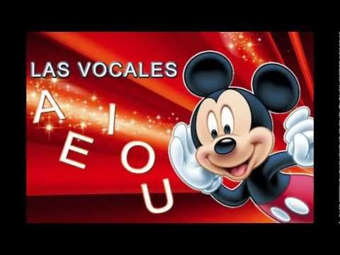 ▶ Mickey Mouse y las vocales - YouTube